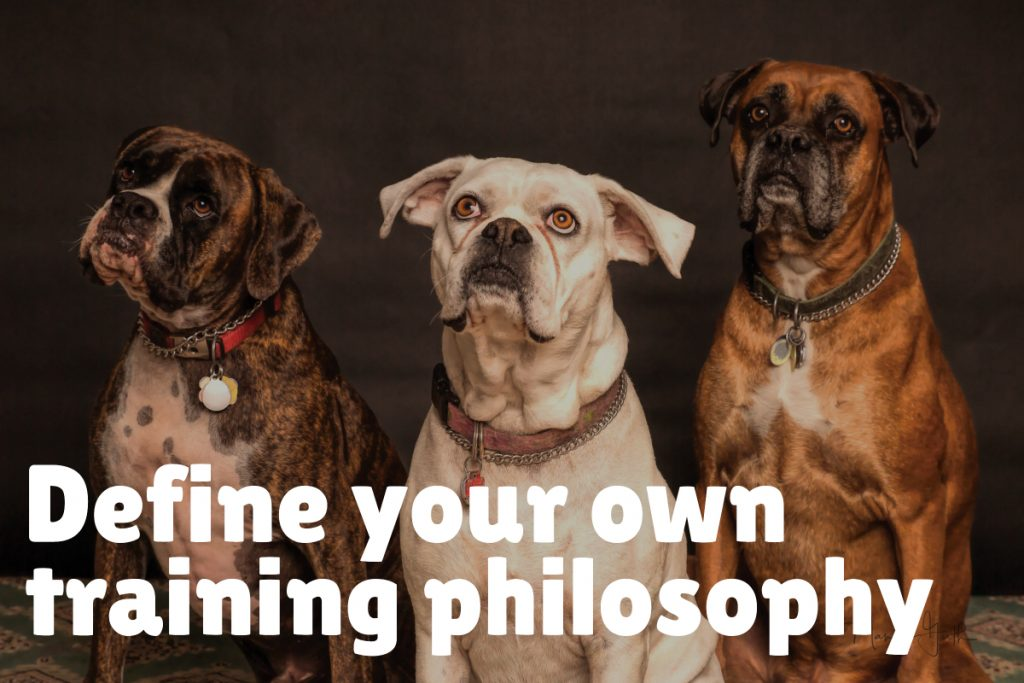 Define your own training philosophy