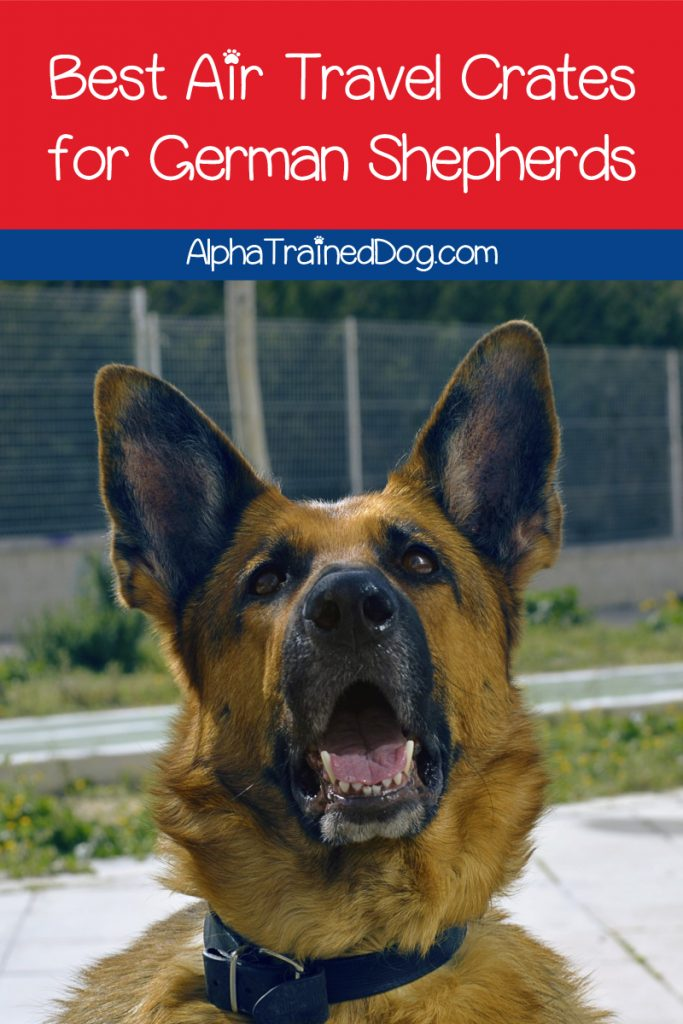 Looking for the best airline crates for German Shepherds? Check out our short list of the ONLY ones we'd recommend, along with what to look for in one.